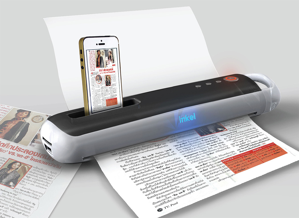portable printer scanner for mobile