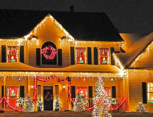 install christmas lights professionally