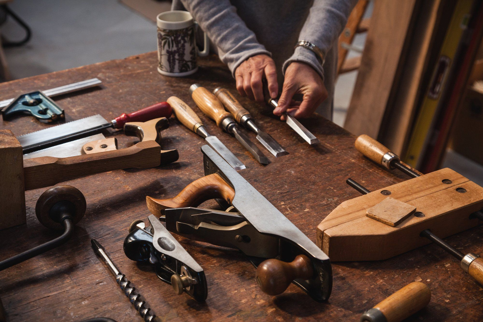 buying tools for woodwork